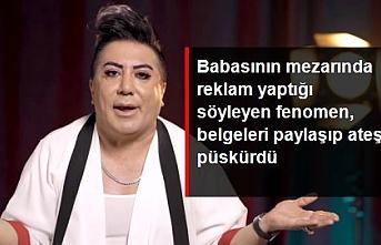 """Murat Övüç """"babasının mezarında reklam yaptı"""" yorumlarına kendi üslubuyla yanıt verdi"""