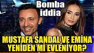 Mustafa Sandal ve Emina Jahovic'in yeniden evleneceği iddiası!