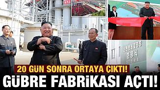 Öldüğü iddia edilen Kim Jong Un, 20 gün sonra açılış töreniye ortaya çıktı