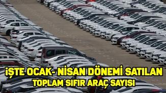 Otomobil pazarı hareketlendi! İşte satılan araç sayısı