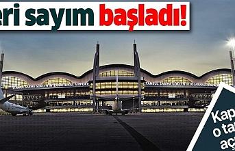 Sabiha Gökçen Havalimanı, 28 Mayıs'ta uçuş için kapılarını açmaya hazırlanıyor