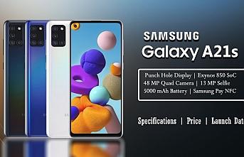 Samsung Galaxy A21s özellikleri neler? fiyatı ne kadar olacak?