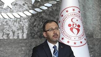 Spor Bakanı Kasapoğlu Federasyon başkanlarından toplantı talep etti
