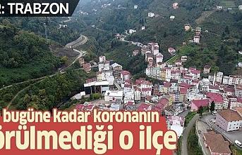 Trabzon Şalpazarı tedbirlere uydu, koronavirüsten uzak kaldı