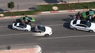 Trafikte kavga çıktı, 3 kadın sopayla dövüldü