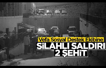 Van'da görevden dönen Vefa Sosyal Destek Grubuna silahlı saldırı!