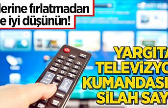 Yargıtay'dan emsal niteliğinde karar! TV kumandası silah sayıldı