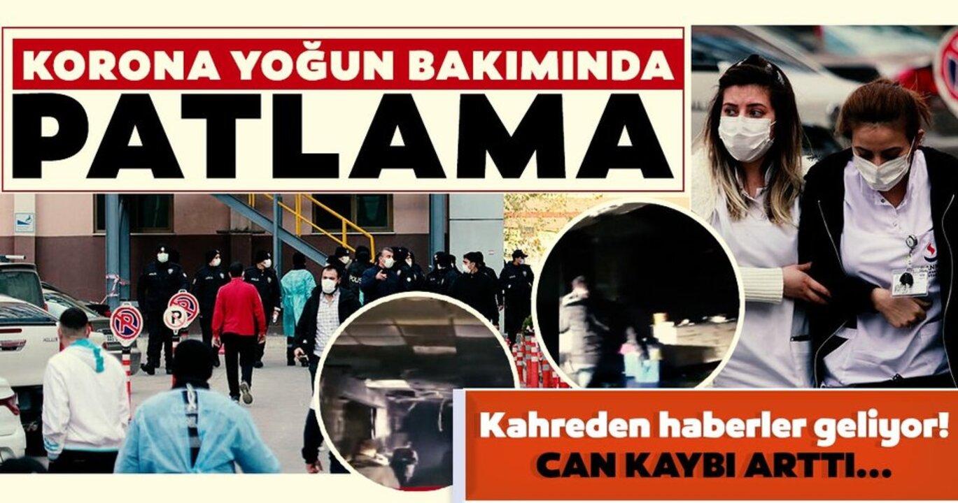 Son dakika: Gaziantep'te hastanede yaşanan patlamada ölü sayısı 9'a yükseldi!