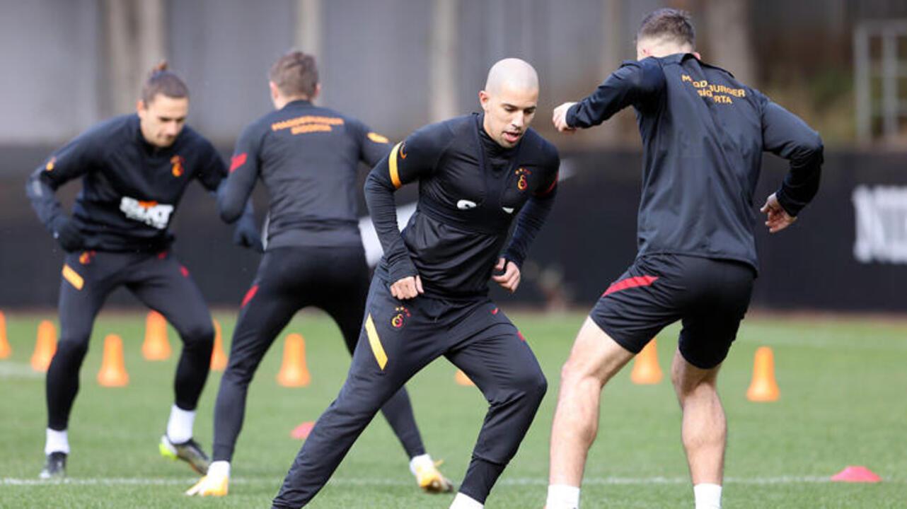 Galatasaray, MKE Ankaragücü maçı için hazırlıklara başladı