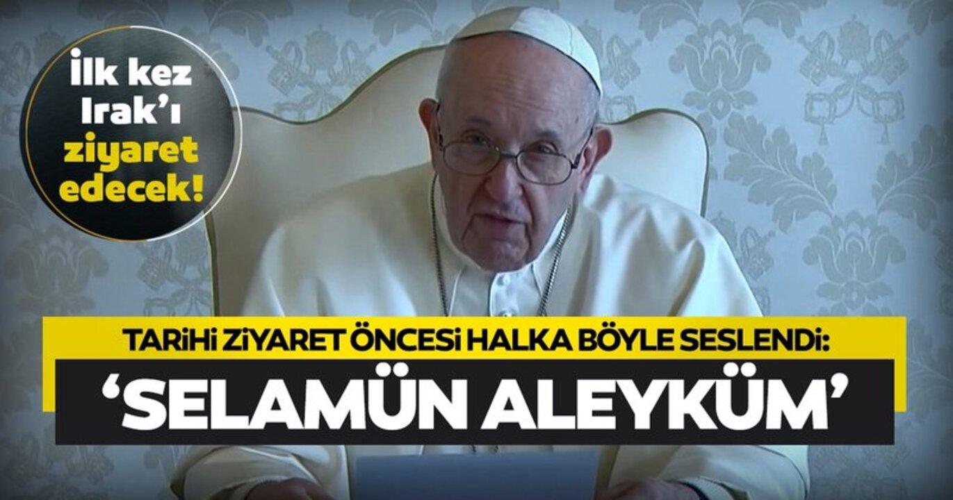 Papa konuşmasına