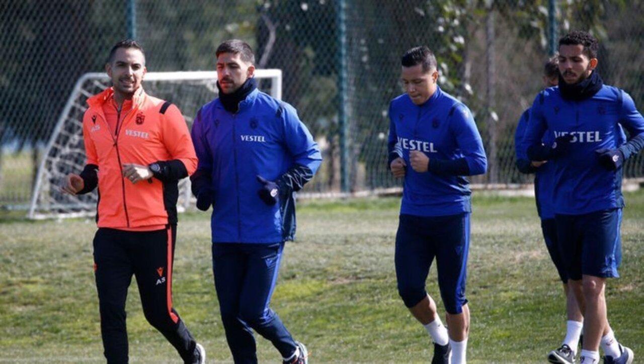 Trabzonspor, Kasımpaşa maçı öncesi antremanlarına başladı