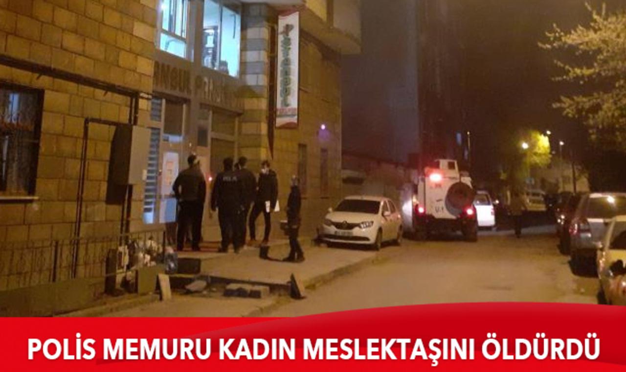 Ağrı'da görevli iki polis arasında çıkan tartışma kanlı bitti! 1 polis hayatını kaybetti