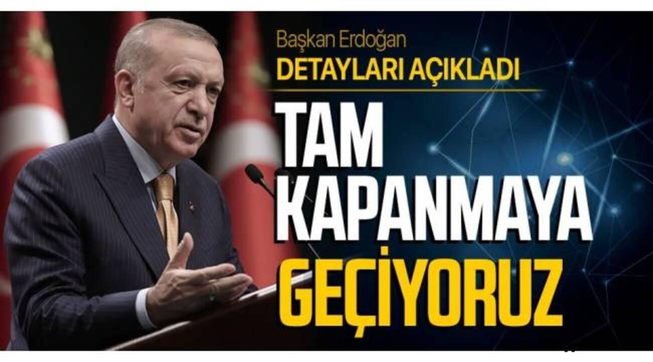 Türkiye 17 günlük tam kapanmaya geçiyor! İşte, tam kapanma kapsamındaki açık ve kapalı olacak yerler..