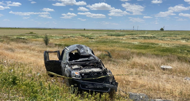 Aksaray'da kamyonet kazası! 1 ölü 2 yaralı
