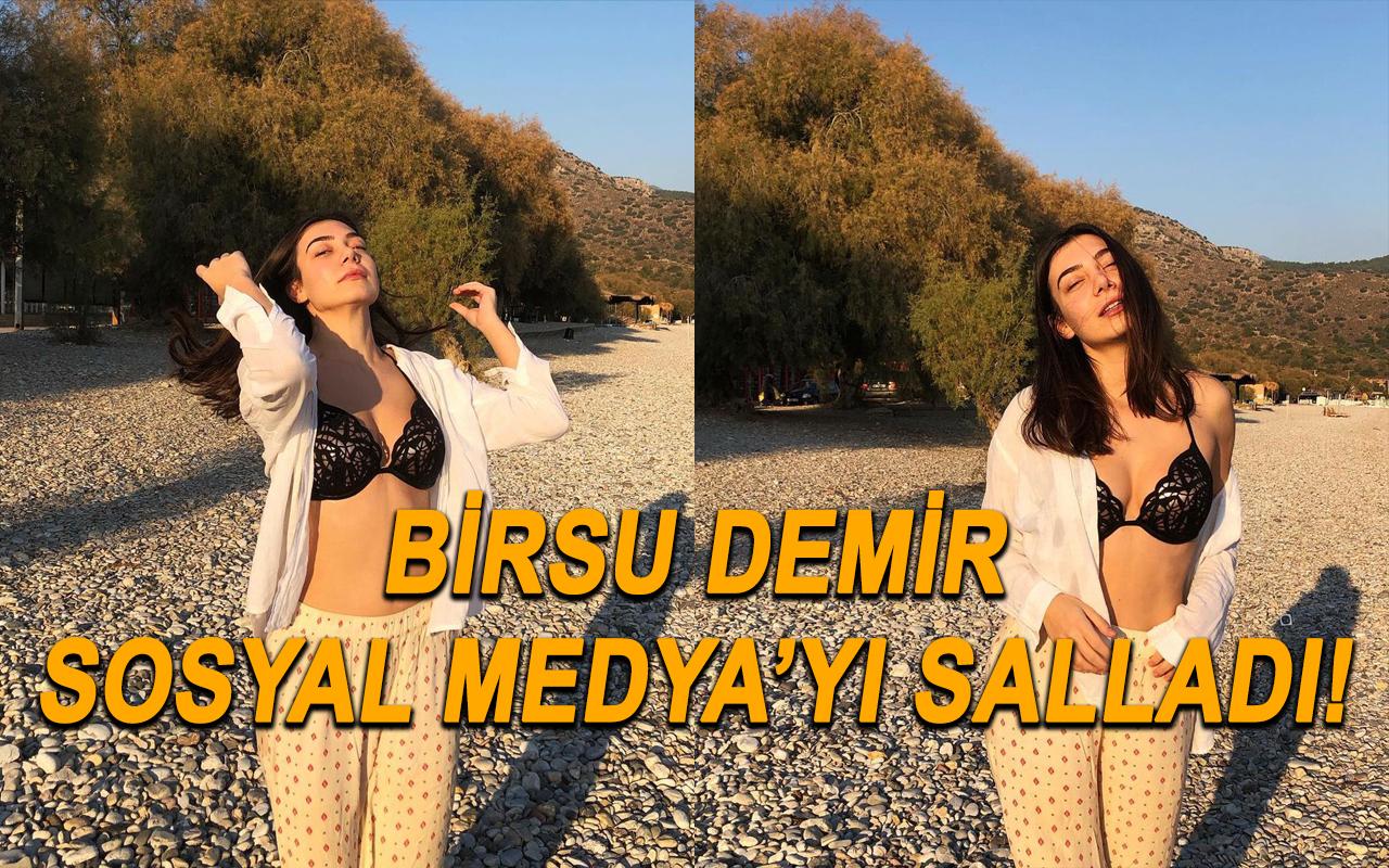Alemin Kıralı dizisinin Oben'i Birsu Demir'in tekne pozu sosyal medyayı yıktı geçti!