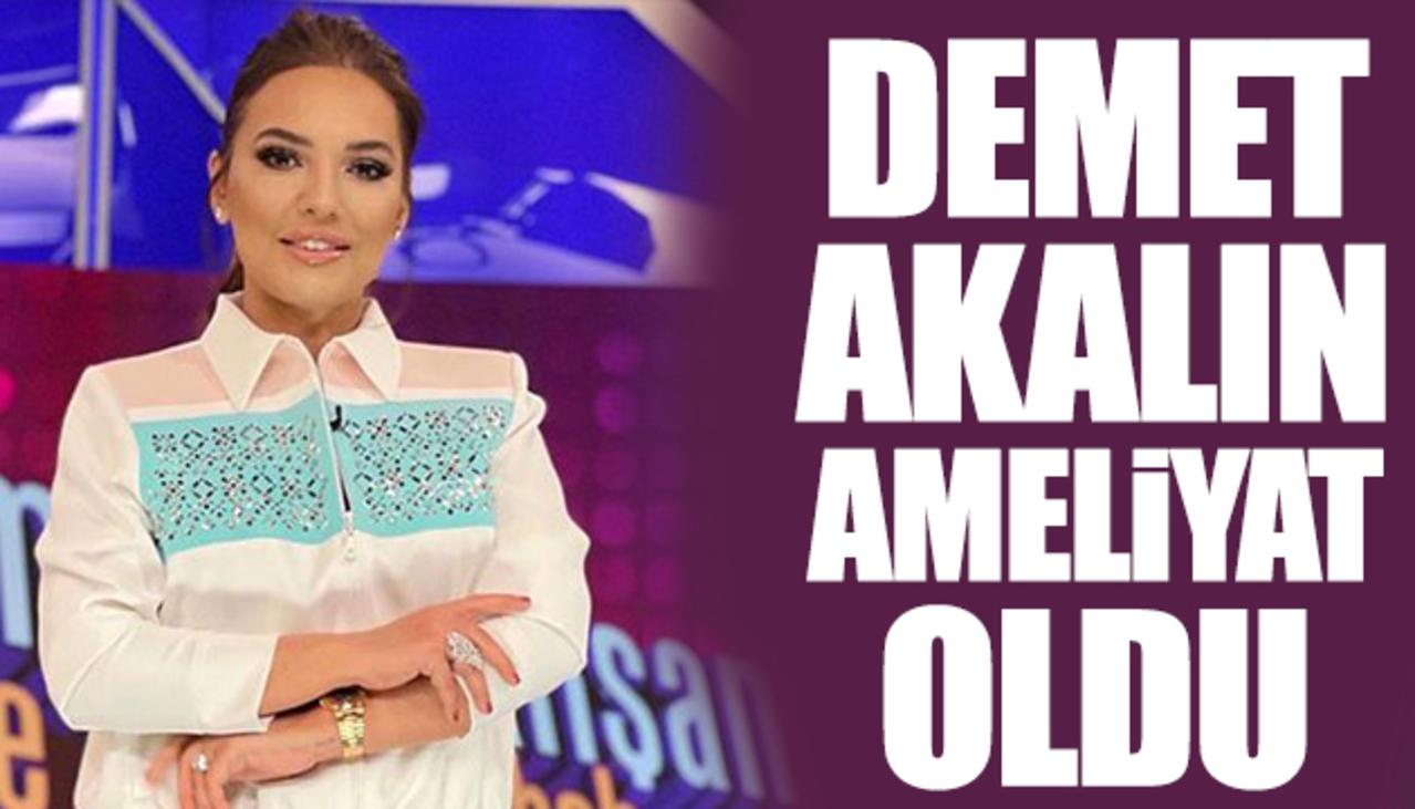 Demet Akalın, ameliyat masasına yattı! Ünlü şarkıcıdan üzen haber