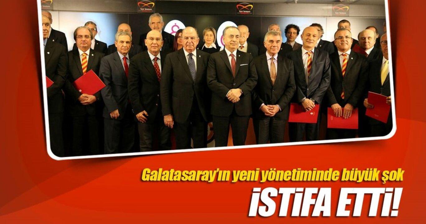 Galatasaray'da istifa krizi