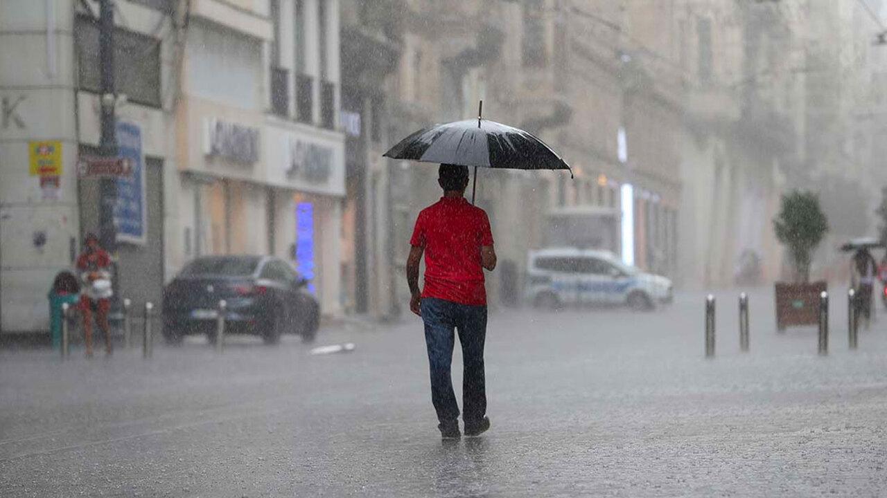 İstanbul için yağış ve rüzgar uyarısı