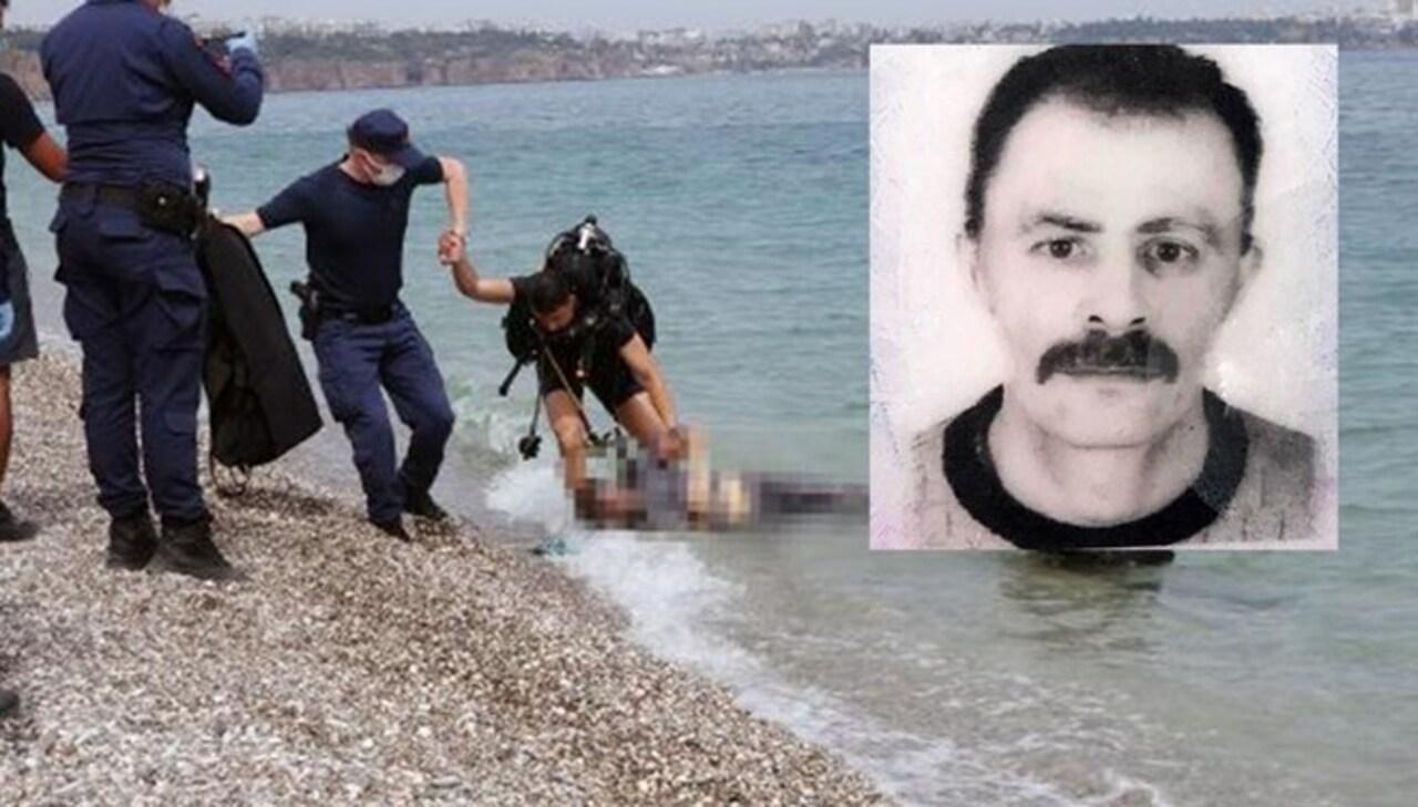 Konyaaltı Sahilinde esrarengiz ölüm! Cesedi turist buldu..