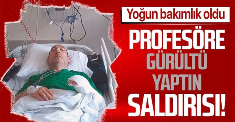Temizlik yaparken gürültü yapan profesör, komşuları tarafından öldüresiye darbedildi!