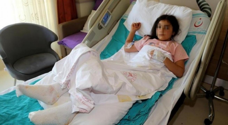 9 yaşındaki çocuğun üzerine kaynar su dolu çaydanlık devrildi