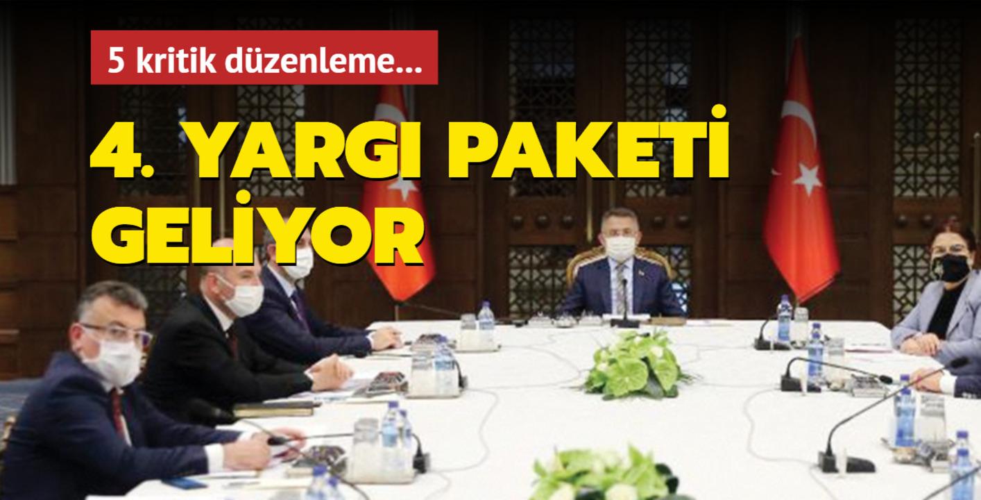 AK Parti, TBMM'ye 4'üncü yargı paketini sunmaya hazırlanıyor!