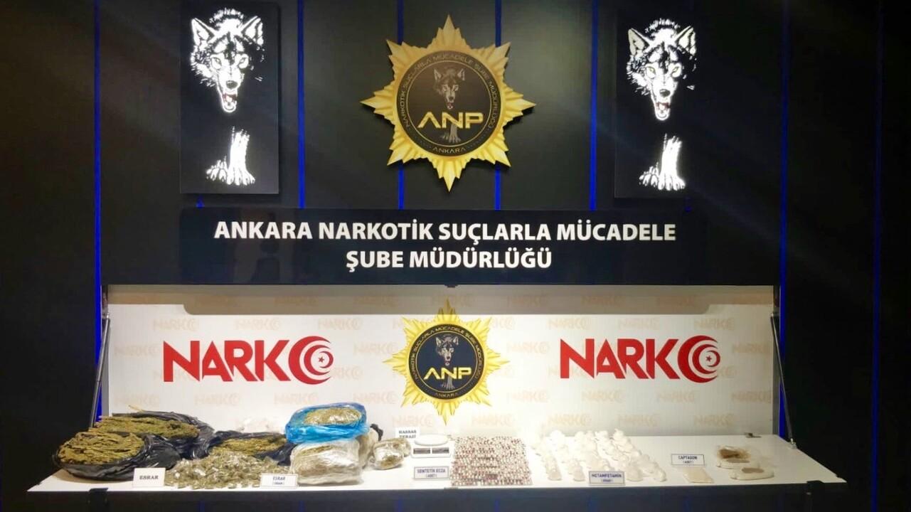 Ankara'da uyuşturucuya büyük darbe! Son bir haftada 362 kişi gözaltına alındı