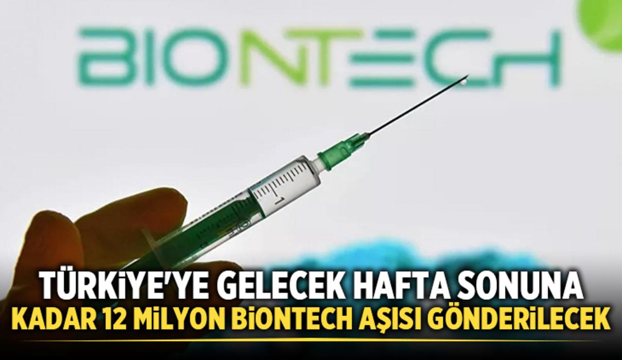 Aşılama çalışmaları hızlandırıldı, 12 milyon doz daha BioNTech aşısı geliyor!