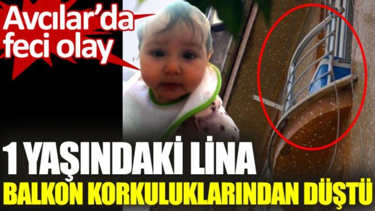 Avcılar'da acı olay! Balkondan düşen küçük çocuk hayatını kaybetti