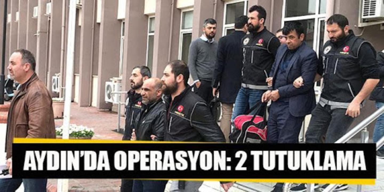 Aydın ve Manisa'da uyuşturucu operasyonunda 2 kişi tutuklandı