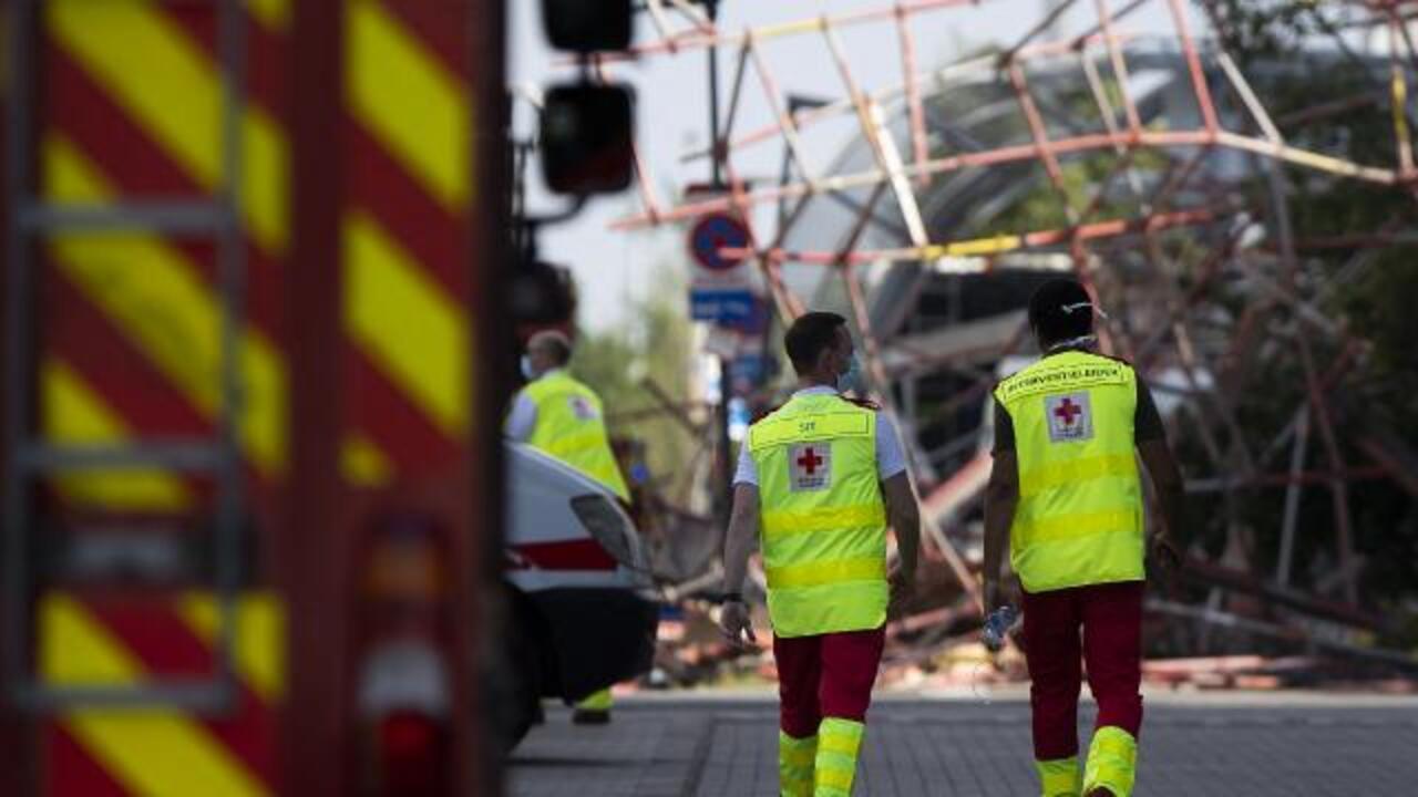 Belçika'da okul inşaatı çöktü: 3 ölü, 9 yaralı