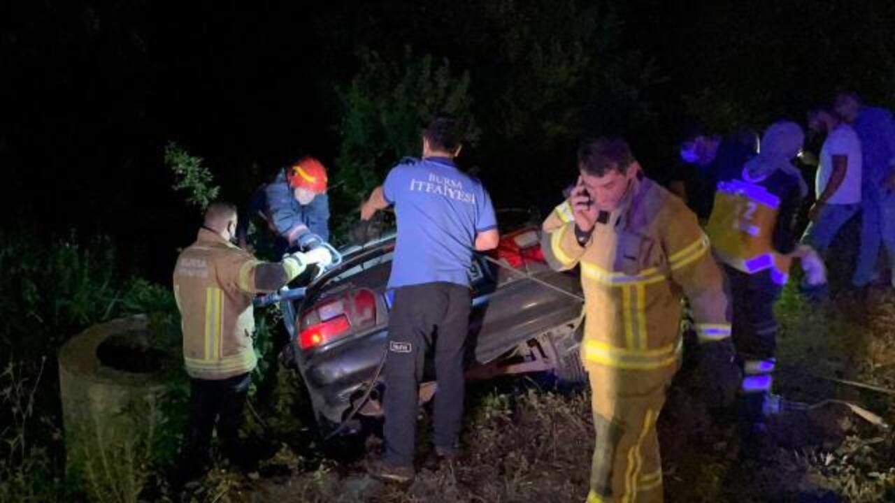 Bursa İznik'te zincirleme trafik kazası:  6 yaralı!