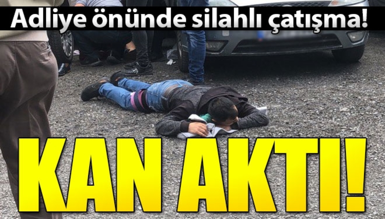 Cinayet davası tarafları Bakırköy Adliyesi'nde birbirine girdi!