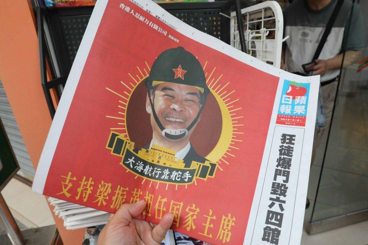 Çin'e muhalif olan gazeteye halk desteği geldi
