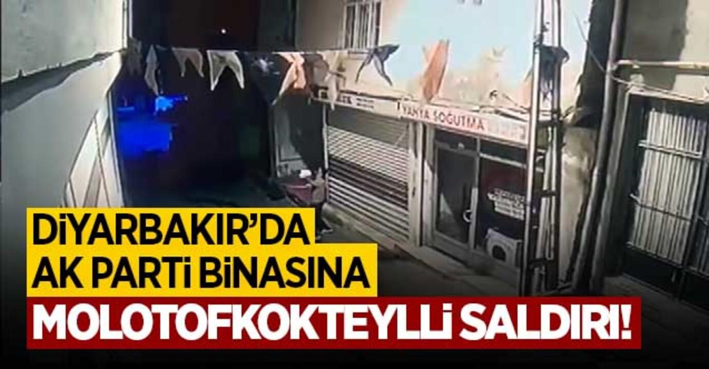 Diyarbakır AKP Hani ilçe binasına saldırı düzenlendi!