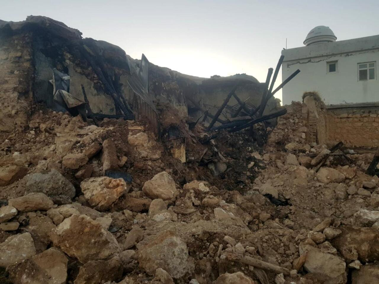 Diyarbakır Kocaköy'de toprak evde yangın çıktı: 1 ölü