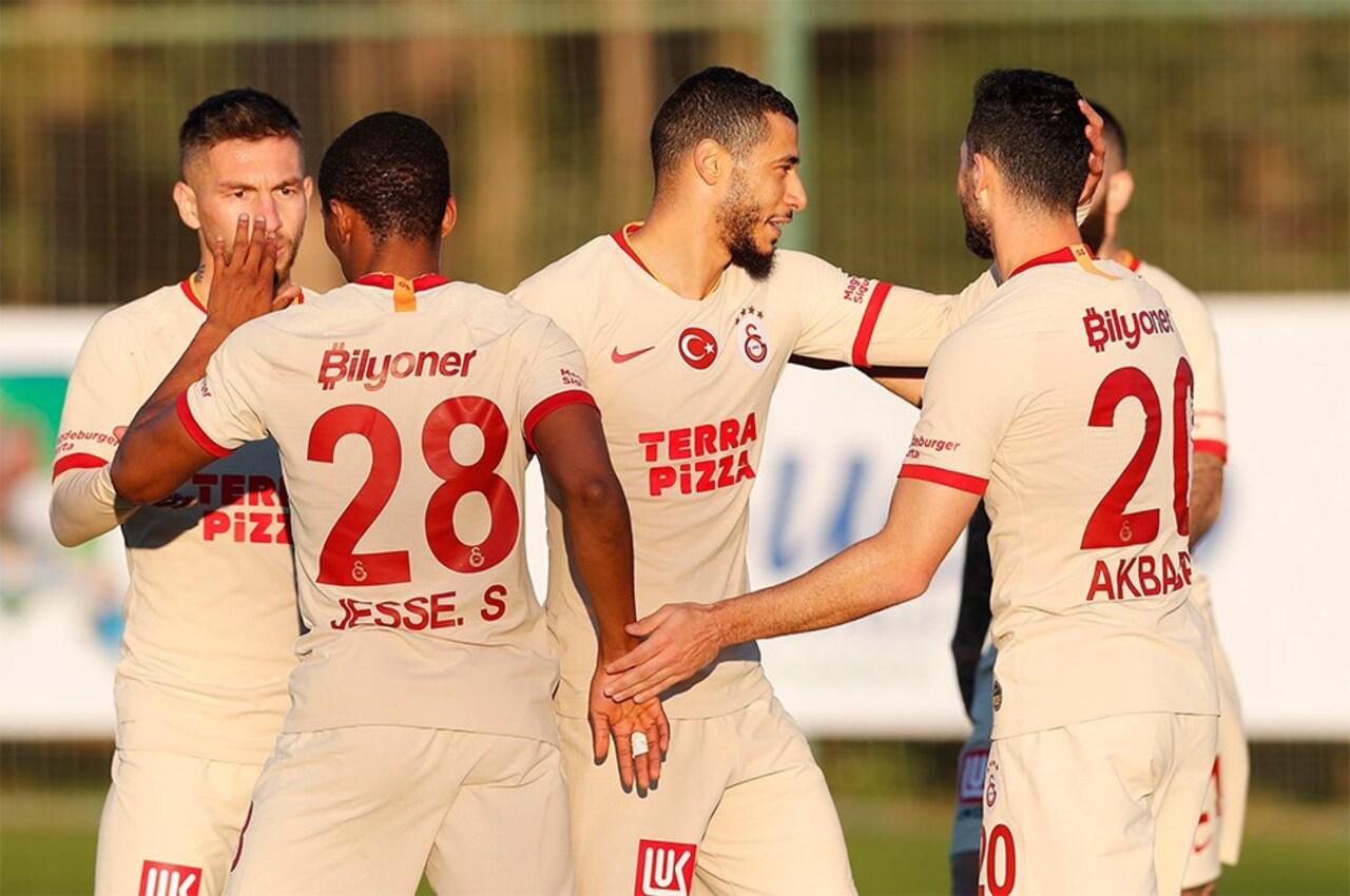 Galatasaray'da hazırlık maçı!