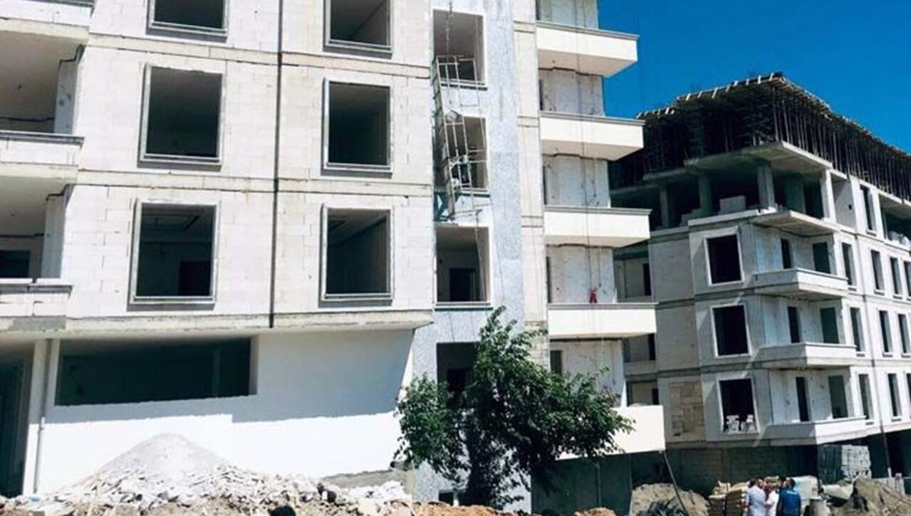 Gaziantep'te inşaat iskelesinden düşen iki kişi hayatını kaybetti, iki kişi de ağır yaralandı