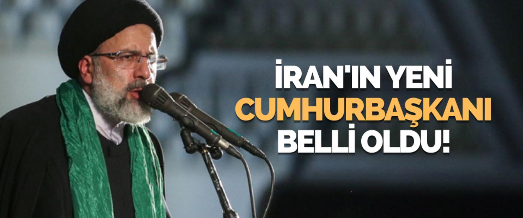 İran'da yeni cumhurbaşkanı İbrahim Reisi oldu