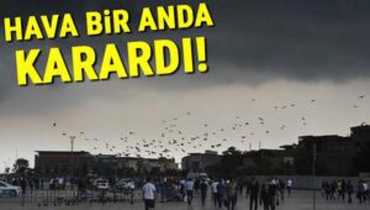 İstanbul'a Turuncu uyarı! İstanbul sele teslim