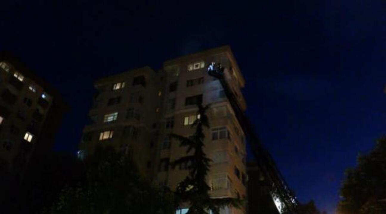 Kadıköy'de yangın!