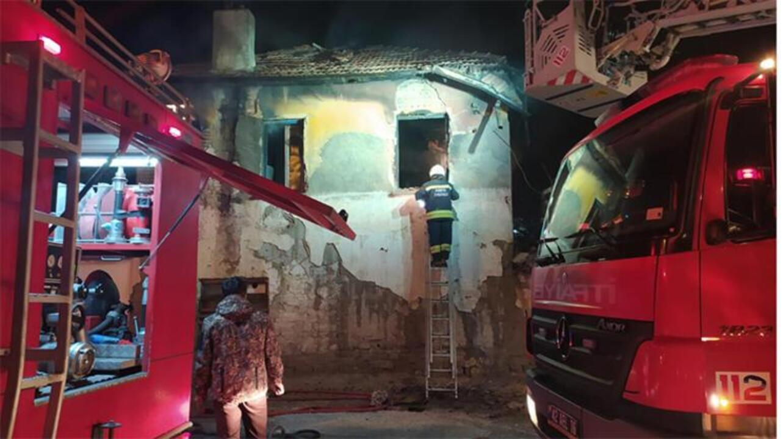 Konya'da çıkan yangında 3 çocuk hayatını kaybetti