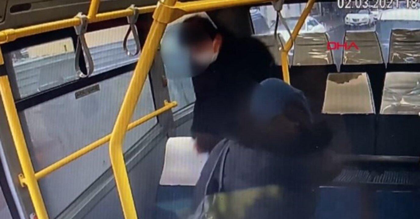Maltepe'de minibüste cinsel taciz anı