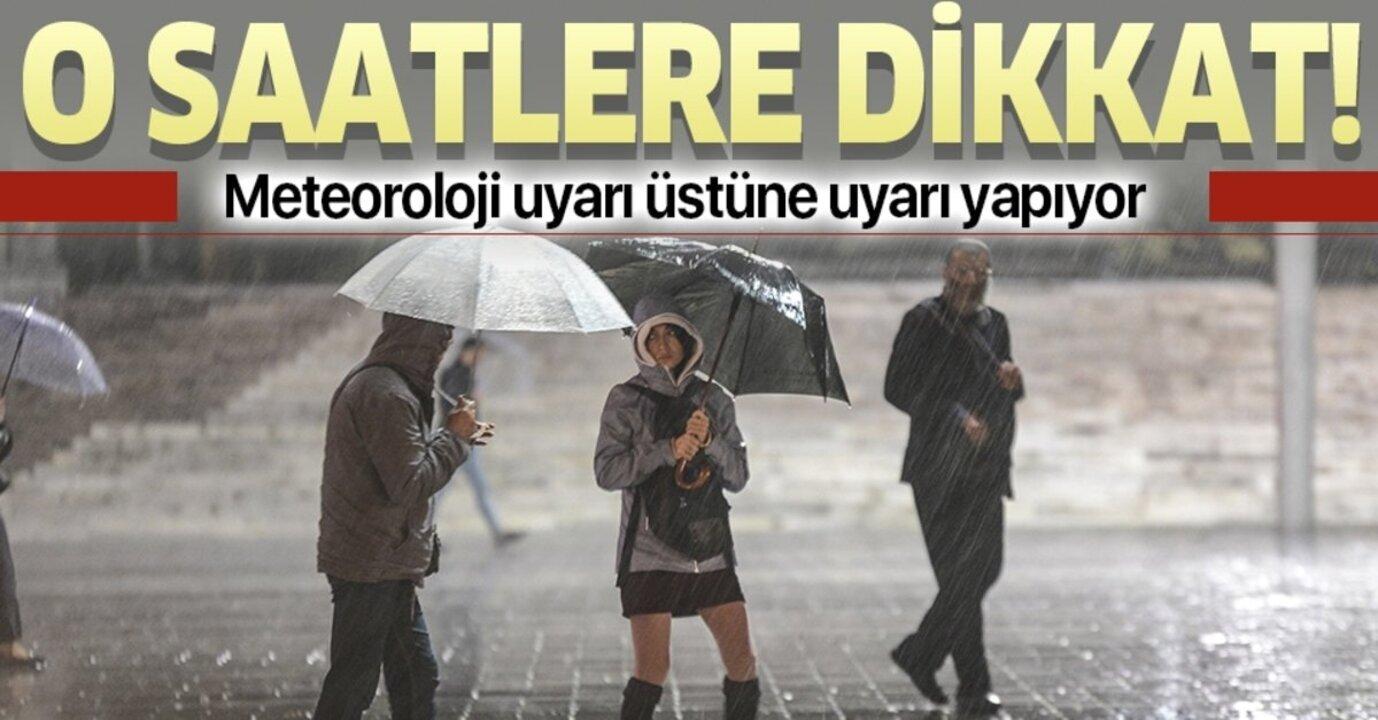 Meteoroloji İstanbulluları uyardı! Sağanak günlerce sürecek