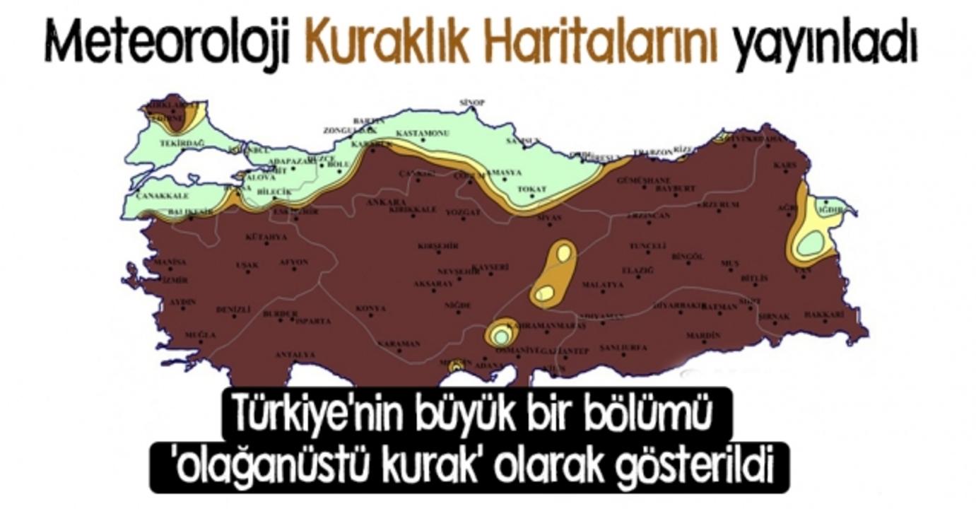 Meteoroloji uyardı: Yağışlar azaldı, Türkiye olağanüstü kuraklıkla karşı karşıya!