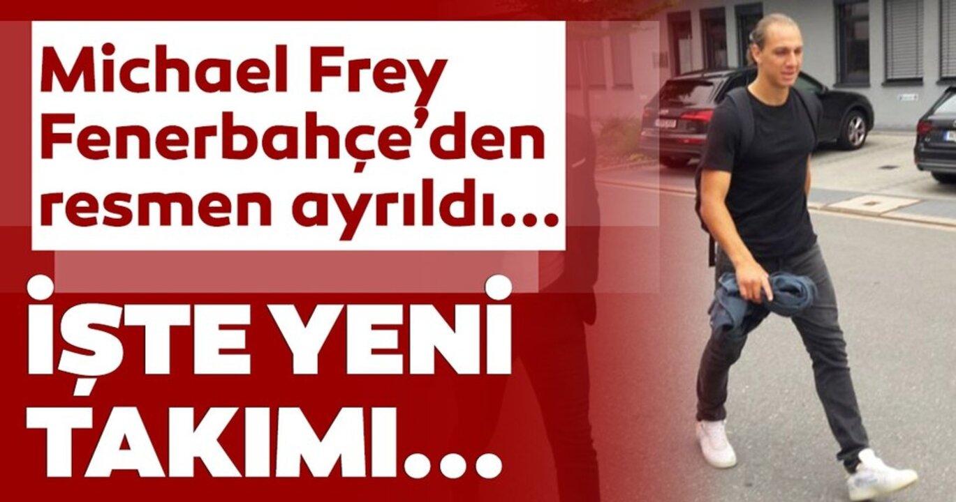 Michael Frey, Fenerbahçe'den ayrıldı!