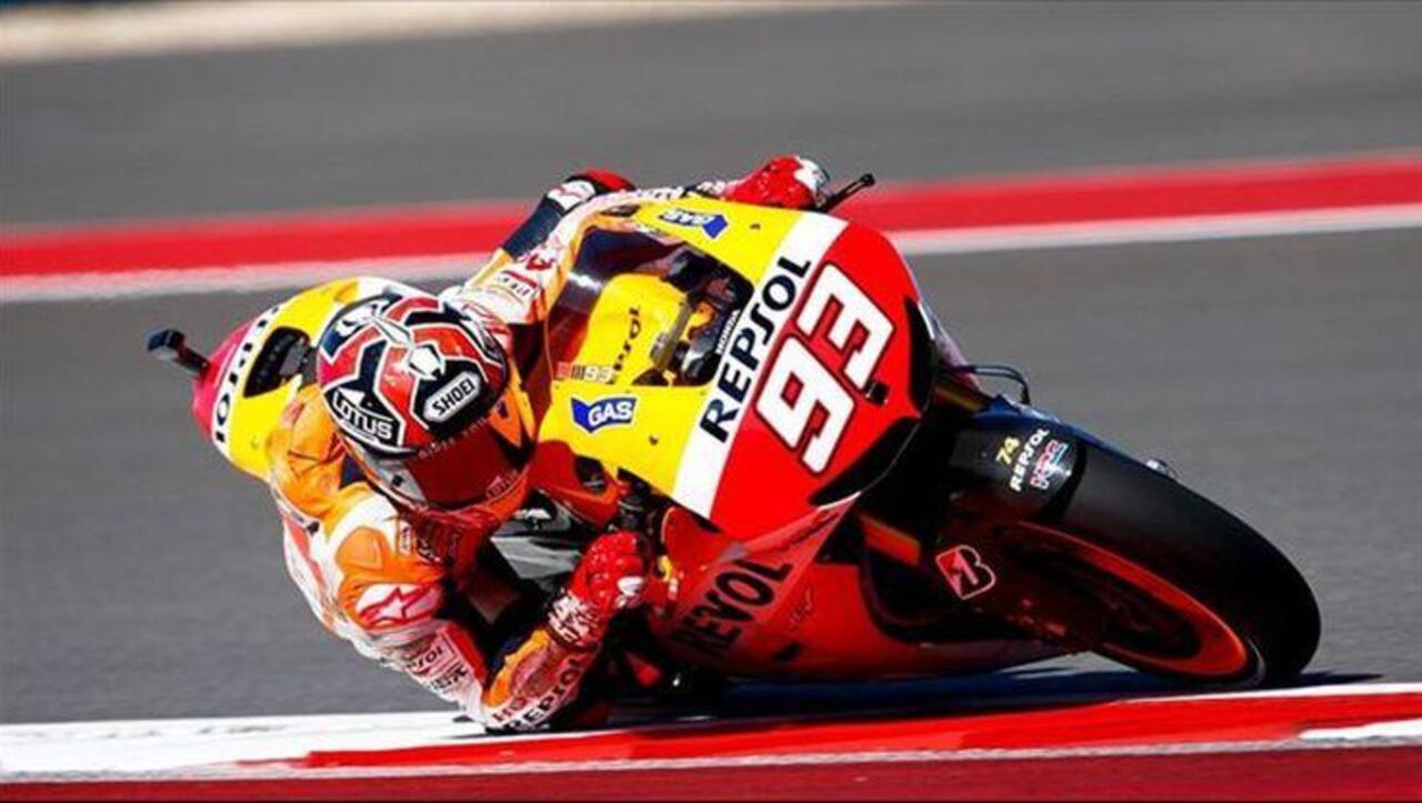 MotoGP'de sekizinci yarışın kazananı Marc Marquez!