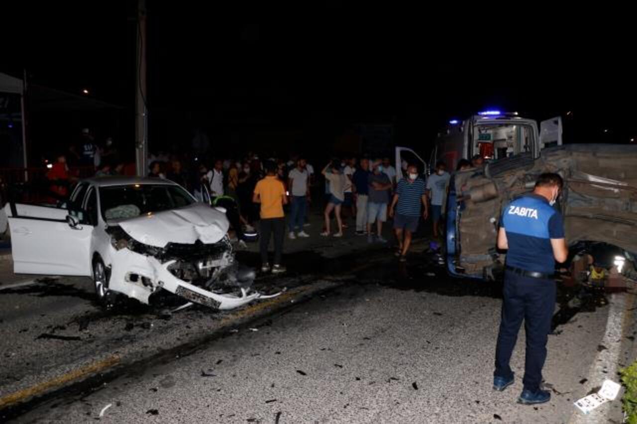 Muğla'da büyük kaza sonucu 8 kişi yaralandı