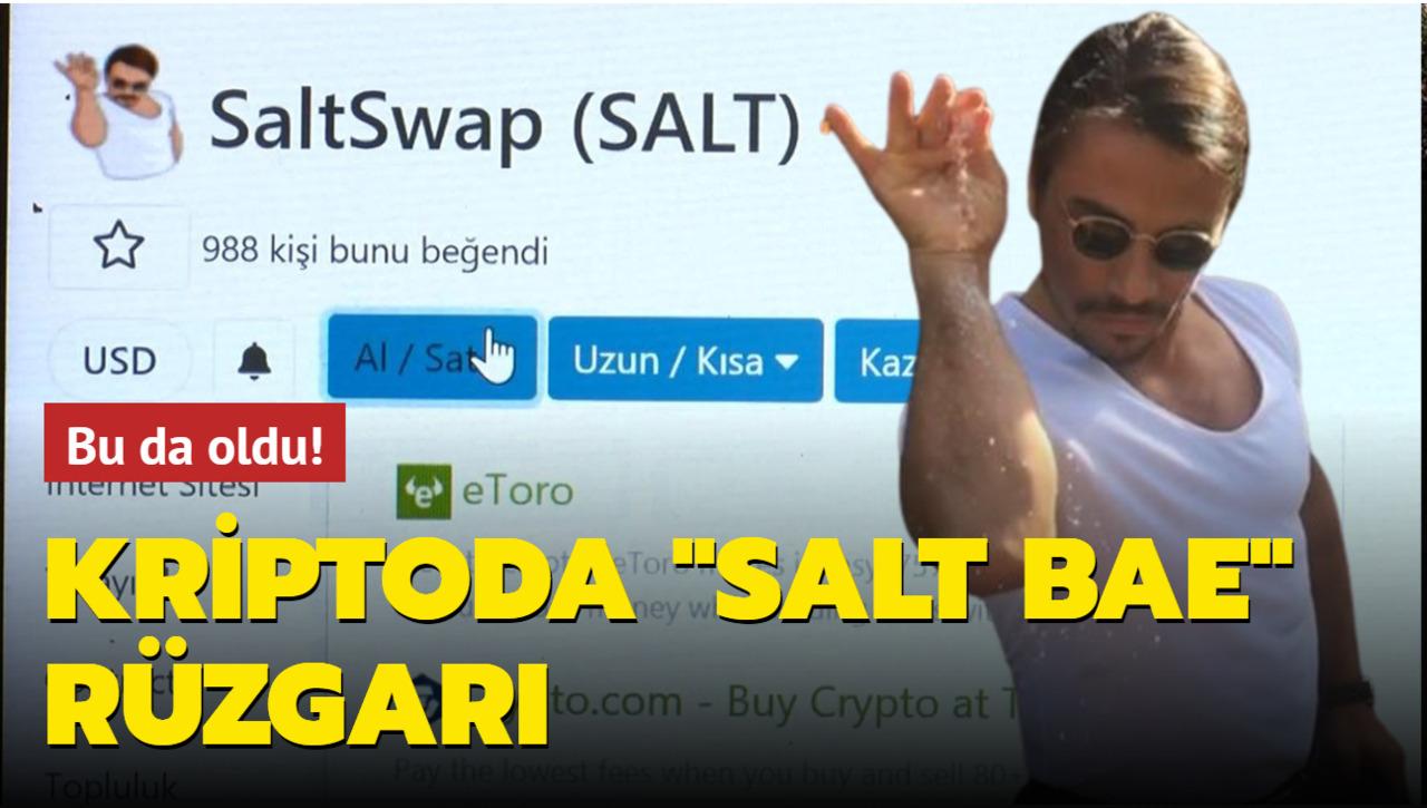 Nusret'in tuz hareketi Salt Bae kripto para olarak çıktı
