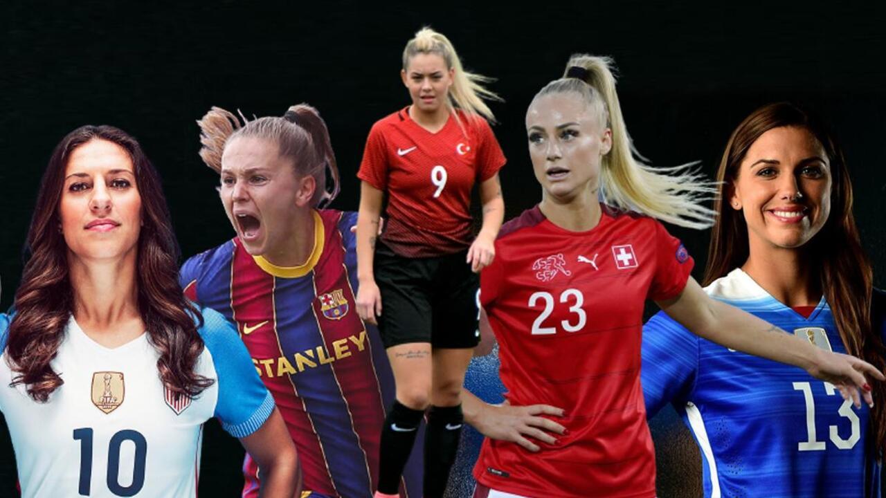 Sosyal medyada en çok takipçisi olan kadın futbolcular